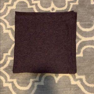EUC Lululemon vinyasa scarf. Purple and black.